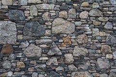τεχνητός μπλε ελαφρύς τοίχος πετρών Στοκ φωτογραφία με δικαίωμα ελεύθερης χρήσης