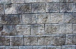 τεχνητός μπλε ελαφρύς τοίχος πετρών Στοκ Εικόνες
