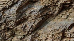 τεχνητός μπλε ελαφρύς τοίχος πετρών Στοκ εικόνες με δικαίωμα ελεύθερης χρήσης
