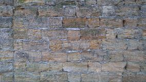 τεχνητός μπλε ελαφρύς τοίχος πετρών στοκ φωτογραφίες