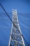 Τεχνητός πύργος παρατήρησης με την αλιεία με δίχτυα Στοκ Φωτογραφίες