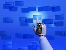 τεχνητός Τύπος χεριών κου&mu Στοκ φωτογραφία με δικαίωμα ελεύθερης χρήσης