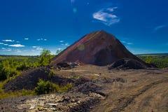 τεχνητό βουνό Στοκ φωτογραφίες με δικαίωμα ελεύθερης χρήσης