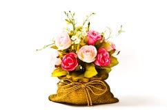 τεχνητό λουλούδι διακοσμήσεων Στοκ Εικόνες