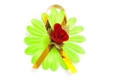 τεχνητό λουλούδι πράσινο Στοκ φωτογραφίες με δικαίωμα ελεύθερης χρήσης
