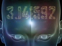 Τεχνητό μυαλό Στοκ φωτογραφίες με δικαίωμα ελεύθερης χρήσης
