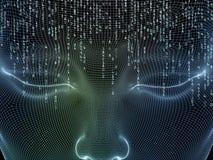 Τεχνητό μυαλό Στοκ εικόνες με δικαίωμα ελεύθερης χρήσης
