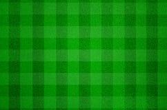 Τεχνητό πράσινο πεδίο χλόης Στοκ Εικόνες