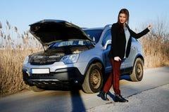 Τεχνικά προβλήματα αυτοκινήτων Στοκ Εικόνες