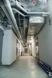 Τεχνικός διάδρομος Στοκ φωτογραφία με δικαίωμα ελεύθερης χρήσης