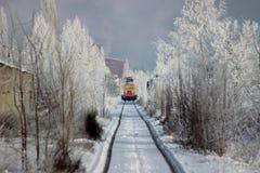 Τεχνικό τραίνο υπηρεσιών Στοκ εικόνα με δικαίωμα ελεύθερης χρήσης
