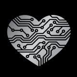 τεχνολογία αγάπης Στοκ Φωτογραφίες