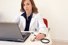 τεχνολογία γιατρών Στοκ Εικόνα