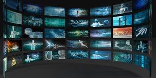 Τεχνολογία καινοτομίας Στοκ Εικόνα