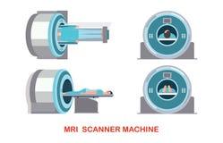 Τεχνολογία και διαγνωστικά μηχανών ανιχνευτών MRI Στοκ Φωτογραφίες