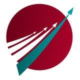 τεχνολογία λογότυπων επικοινωνίας γεια Στοκ φωτογραφία με δικαίωμα ελεύθερης χρήσης