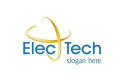 τεχνολογία λογότυπων σ&ch Στοκ φωτογραφία με δικαίωμα ελεύθερης χρήσης