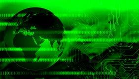 Τεχνολογία παγκόσμιων δικτύων επικοινωνία τεχνολογίας ελεύθερη απεικόνιση δικαιώματος
