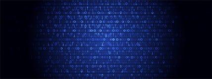 τεχνολογία πλανητών γήινων τηλεφώνων δυαδικού κώδικα ανασκόπησης binary code computer Διανυσματικό Illustratio Ελεύθερη απεικόνιση δικαιώματος