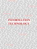 τεχνολογία πληροφοριών έ&n Στοκ Εικόνα