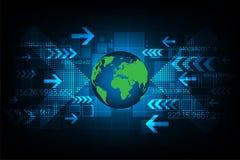 Τεχνολογία του μελλοντικού κόσμου Στοκ εικόνα με δικαίωμα ελεύθερης χρήσης