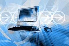 τεχνολογία υπολογιστώ διανυσματική απεικόνιση