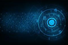 Τεχνολογία υπό μορφή ψηφιακού ελεύθερη απεικόνιση δικαιώματος