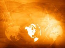 τεχνολογία ύφους χαρτών της Αμερικής διανυσματική απεικόνιση