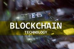Τεχνολογία Blockchain, μεταλλεία cryptocurrency στοκ εικόνα με δικαίωμα ελεύθερης χρήσης