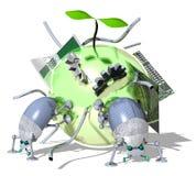 τεχνολογία eco Στοκ Εικόνες