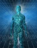 τεχνολογία humanoid διανυσματική απεικόνιση