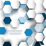 Τεχνολογικό μελλοντικό ευφυές γεωμετρικό αφηρημένο υπόβαθρο β απεικόνιση αποθεμάτων