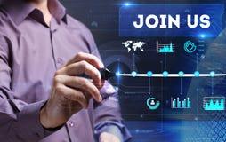 Τεχνολογία, Διαδίκτυο, επιχείρηση και μάρκετινγκ Νέα επιχείρηση ανά στοκ εικόνες