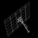 Τεχνολογία ηλιακών πλαισίων Στοκ Φωτογραφίες