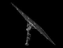 Τεχνολογία ηλιακών πλαισίων Στοκ Εικόνες