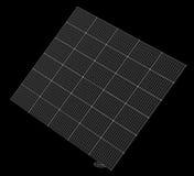 Τεχνολογία ηλιακών πλαισίων Στοκ φωτογραφίες με δικαίωμα ελεύθερης χρήσης