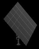 Τεχνολογία ηλιακών πλαισίων Στοκ Φωτογραφία
