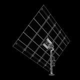 Τεχνολογία ηλιακών πλαισίων Στοκ εικόνες με δικαίωμα ελεύθερης χρήσης