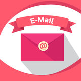 Τεχνολογία μάρκετινγκ επιχειρησιακού ηλεκτρονικού ταχυδρομείου ψηφιακή Στοκ φωτογραφία με δικαίωμα ελεύθερης χρήσης