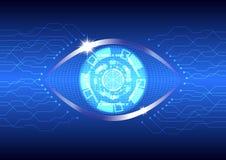 Τεχνολογία ματιών Στοκ φωτογραφία με δικαίωμα ελεύθερης χρήσης