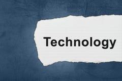 Τεχνολογία με τα δάκρυα της Λευκής Βίβλου Στοκ φωτογραφία με δικαίωμα ελεύθερης χρήσης