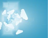 Τεχνολογία ολοκλήρωσης με τη φύση, ουρανός Καλύτερες ιδέες για την επιχείρηση Στοκ Εικόνα