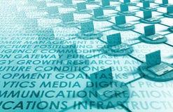 Τεχνολογία πληροφοριών Στοκ Εικόνα