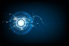 Τεχνολογία στις ενεργειακές έννοιες Στοκ εικόνα με δικαίωμα ελεύθερης χρήσης
