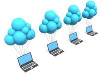 Τεχνολογία σύννεφων Στοκ φωτογραφίες με δικαίωμα ελεύθερης χρήσης