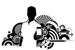 Τεχνολογίες επικοινωνιών Στοκ φωτογραφίες με δικαίωμα ελεύθερης χρήσης