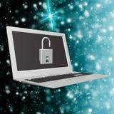 Τεχνολογίες σύνδεσης στο Διαδίκτυο ασφάλειας Στοκ φωτογραφίες με δικαίωμα ελεύθερης χρήσης