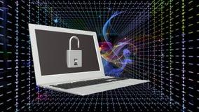 Τεχνολογίες σύνδεσης στο Διαδίκτυο ασφάλειας Στοκ Εικόνες