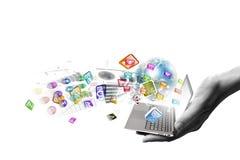 Τεχνολογίες υπολογιστών Στοκ φωτογραφία με δικαίωμα ελεύθερης χρήσης