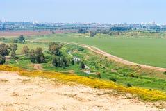 Τελ Αβίβ από το πάρκο του Ariel Sharon Στοκ Εικόνα